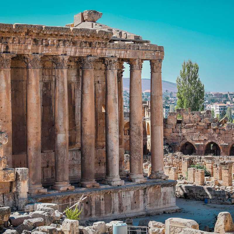Temple of Bacchus (Roman's god of Wine)