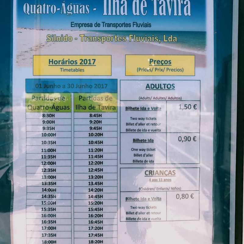 Visit Tavira Island