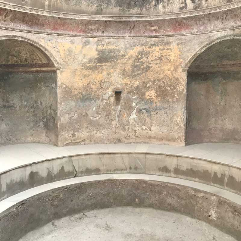 Buiding of Eumachia - Excavations
