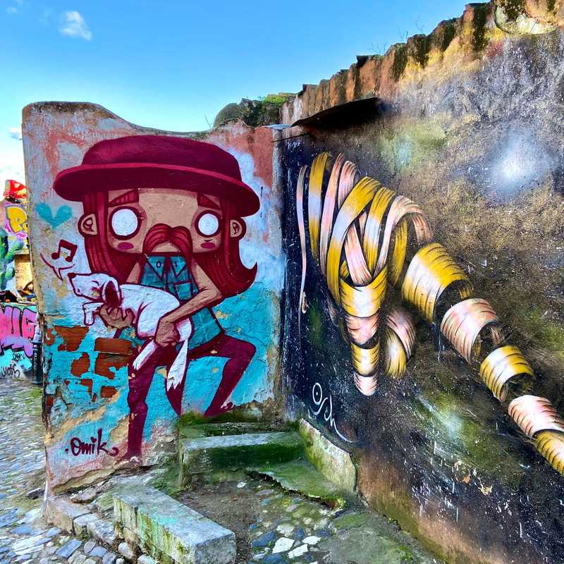 Grafitti Ruine