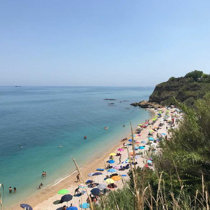 Spiaggia dei Ripari di Giobbe
