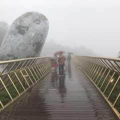Golden Bridge Da Nang