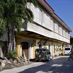 Syquia Mansion Museum along Quirino Boulevard served as the home of former Philippine president, Elpidio Quirino and his family.