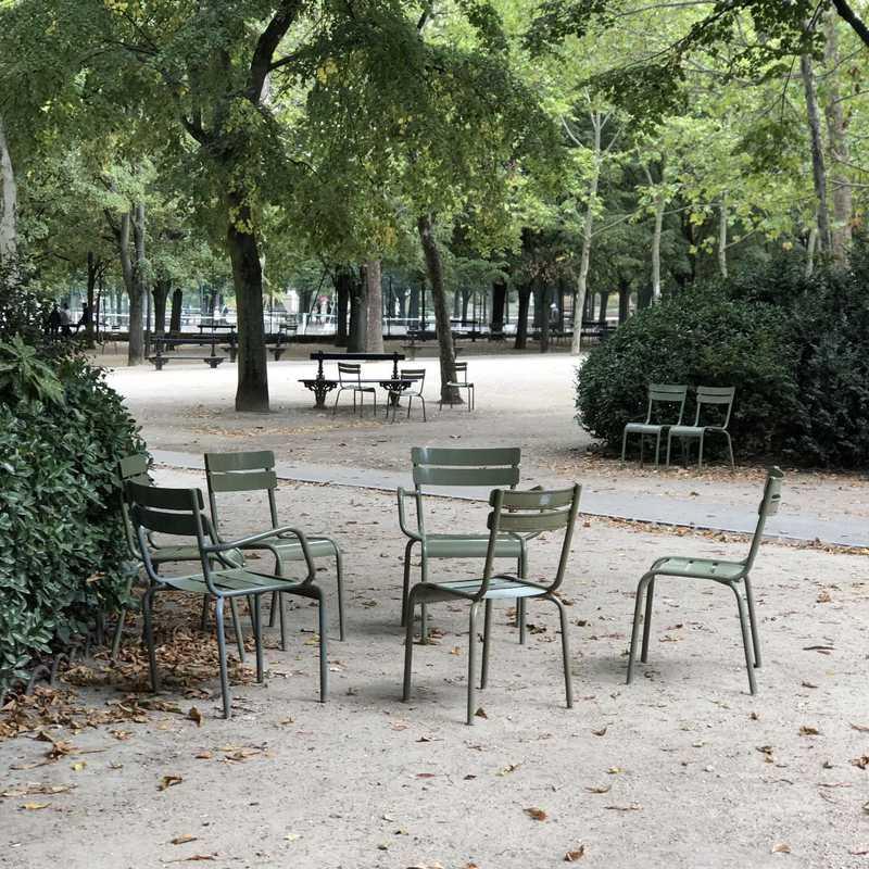 Place / Tourist Attraction: Luxembourg Gardens (Paris, France)