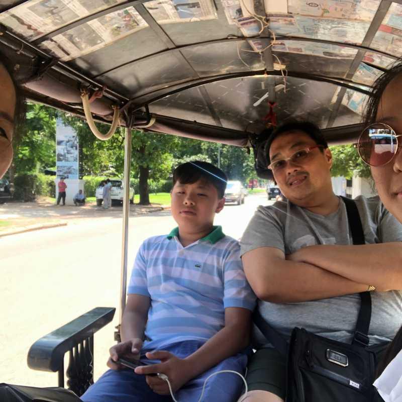 Tuktuk ride❤️