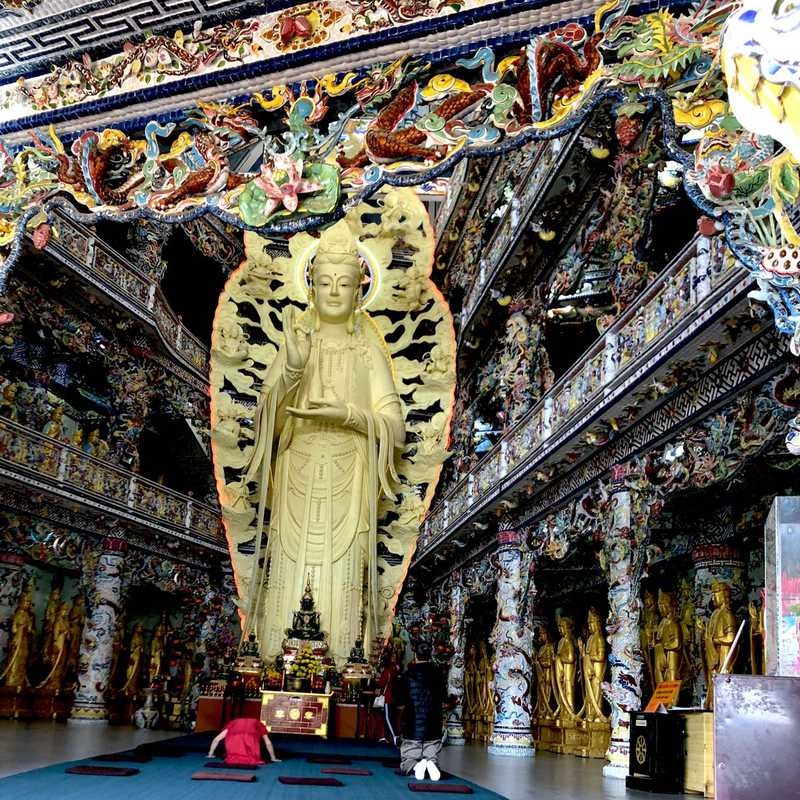 Trip Blog Post by @Jewel_Glows: Linh Phuoc Pagoda (Mosaic Temple )Da Lat 2021 | 1 day in Jan (itinerary, map & gallery)