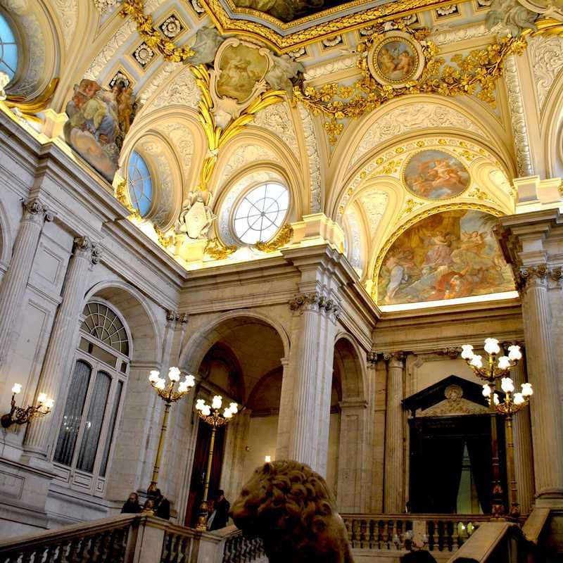 The Royal Palace of Madrid