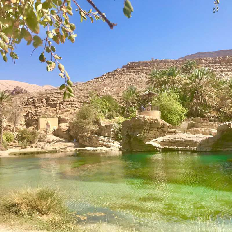 Wadi Bani Khalid Pools & Cave