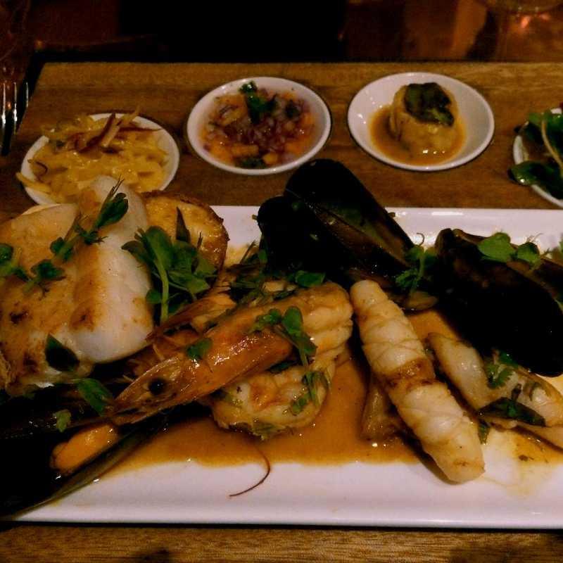 Dinner at Indochine Restaurant