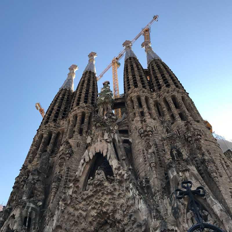 Self-Guided Tour of Sagrada Familia