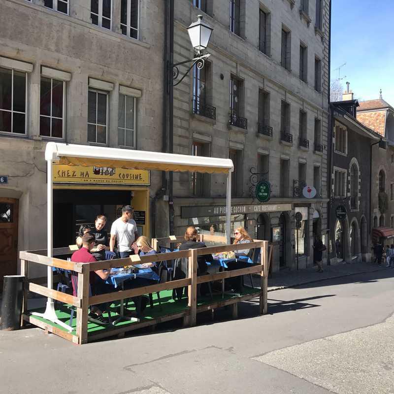 Lunch at Au Pied de Cochon