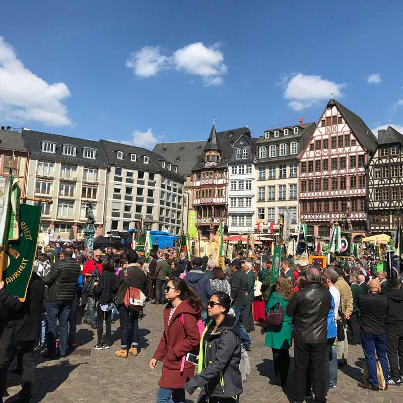 Frankfurt 2017 | 1 day trip itinerary, map & gallery