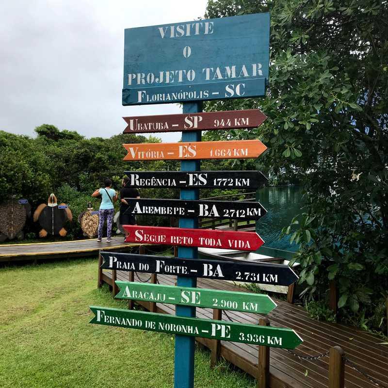 Fundação Projeto TAMAR Florianópolis
