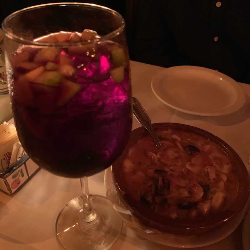 Dinner at Cafe Seville