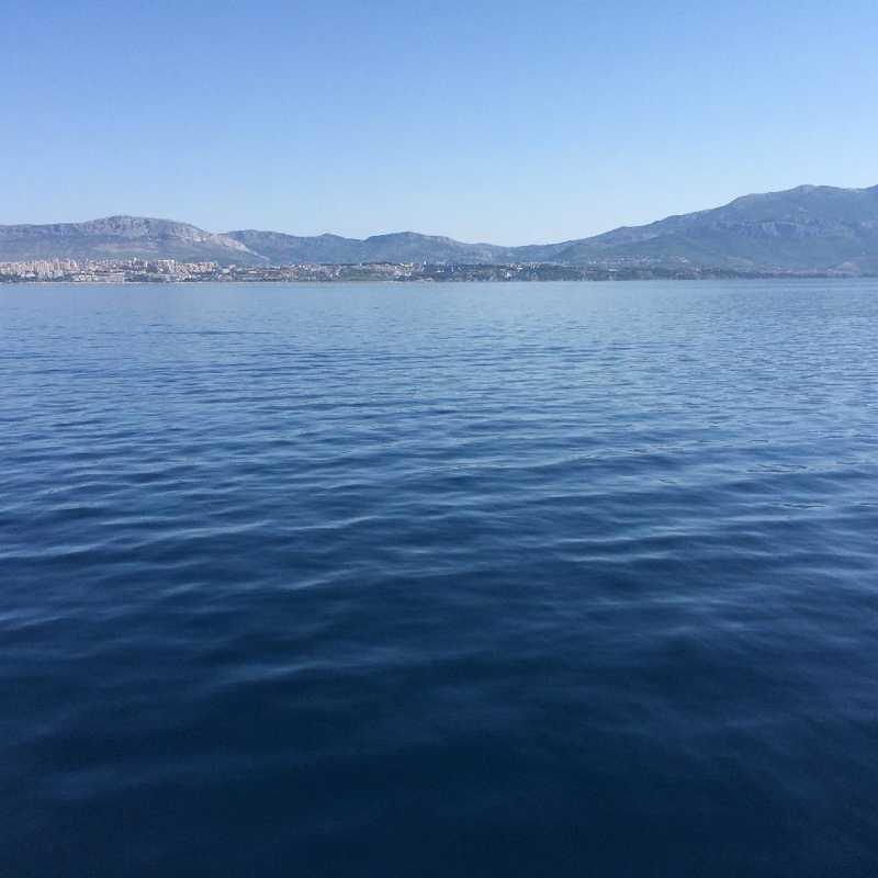 Ferry from Brac to Makarska
