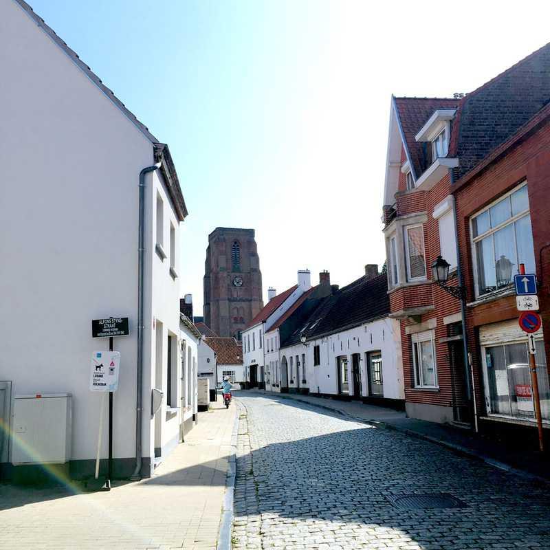 """Lissewege """"Het witte dorp"""""""