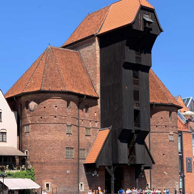 Brama Żuraw/ Gdańsk