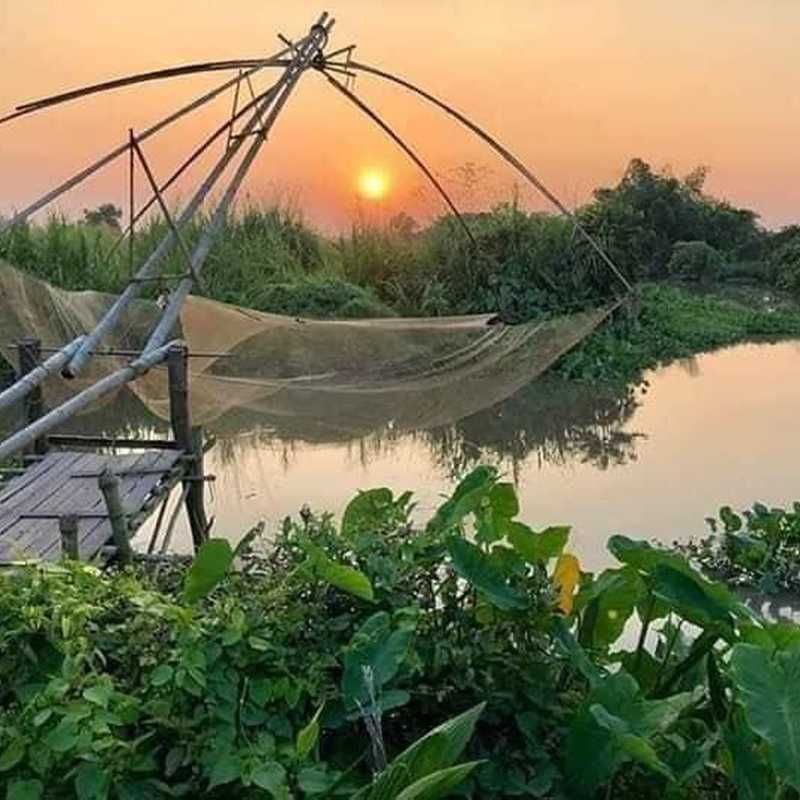 Trip Blog Post by @ASHIYK: VIETNAM❤️VILLAGE LIFESTYLE ❤️ | 1 day in Apr (itinerary, map & gallery)