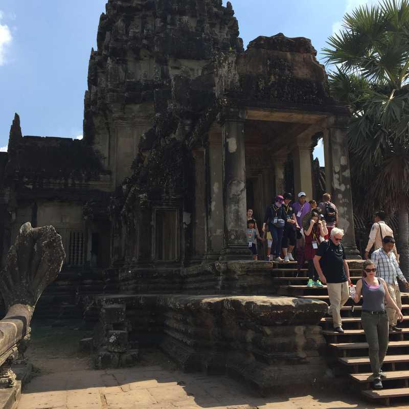 CAMBODIA  ANGKOR WAT & SIEM REAP  2016