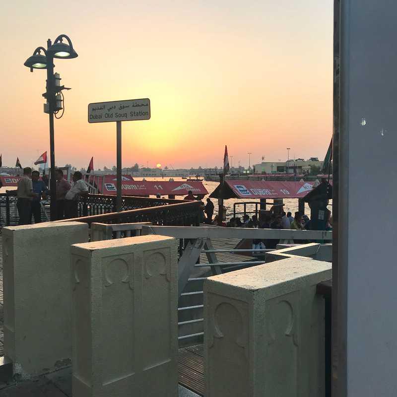 Abra Boat Service to Bur Dubai