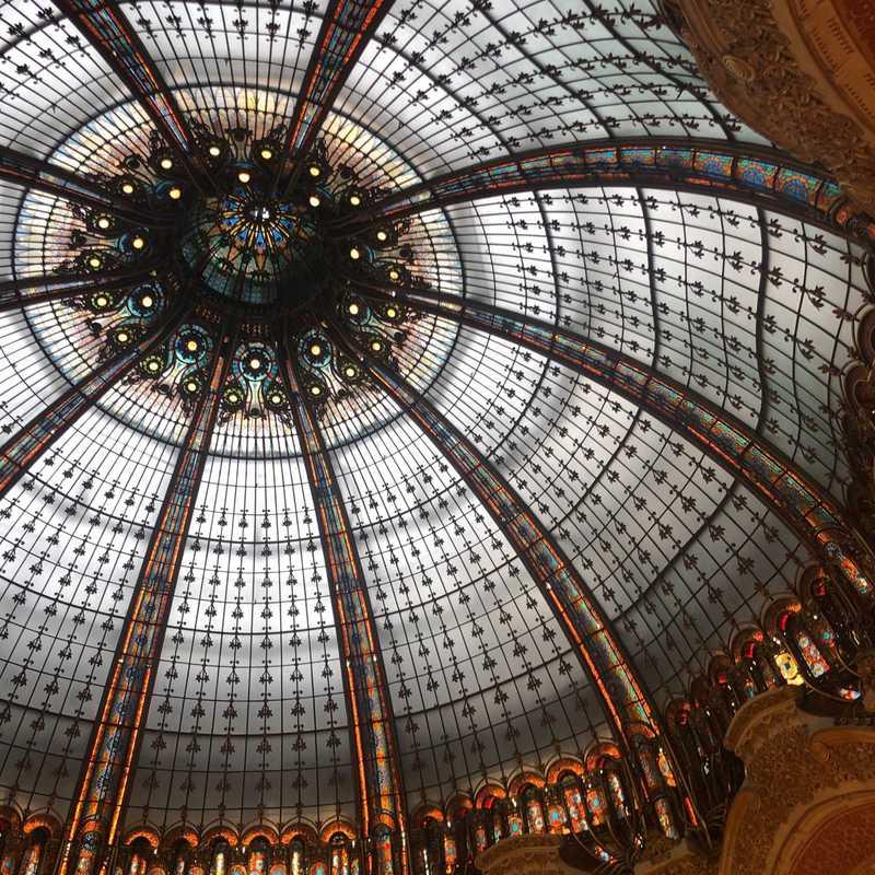 Lafayette Café Galeries Lafayette Paris Haussmann