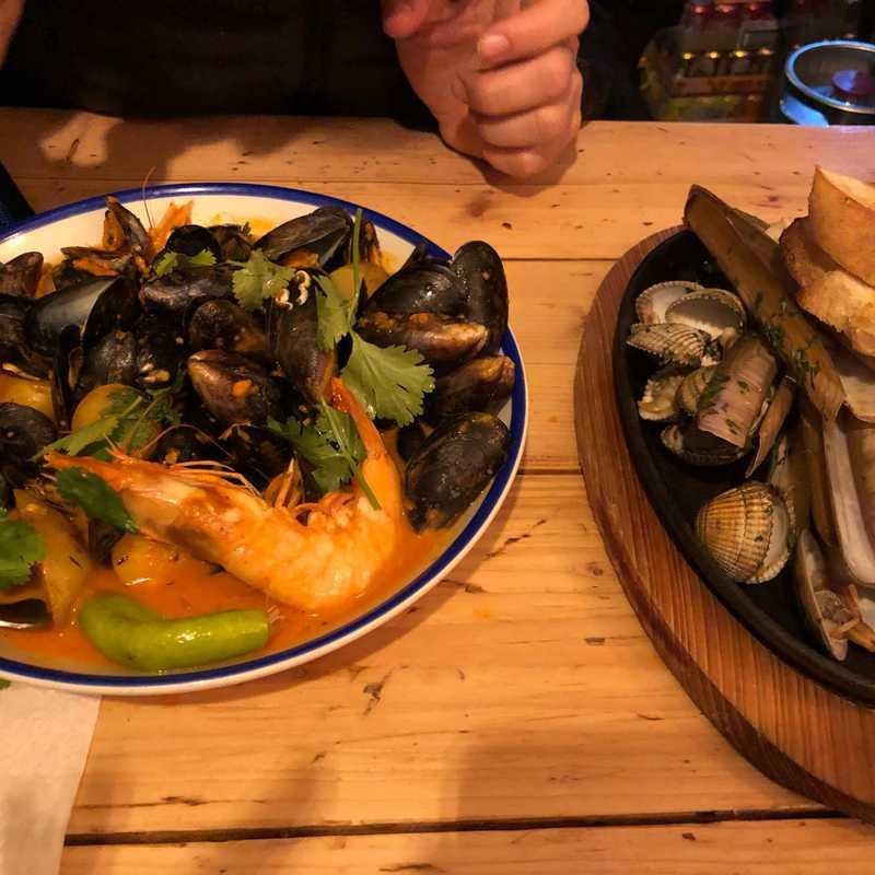The Seafood Café by Niall Sabongi