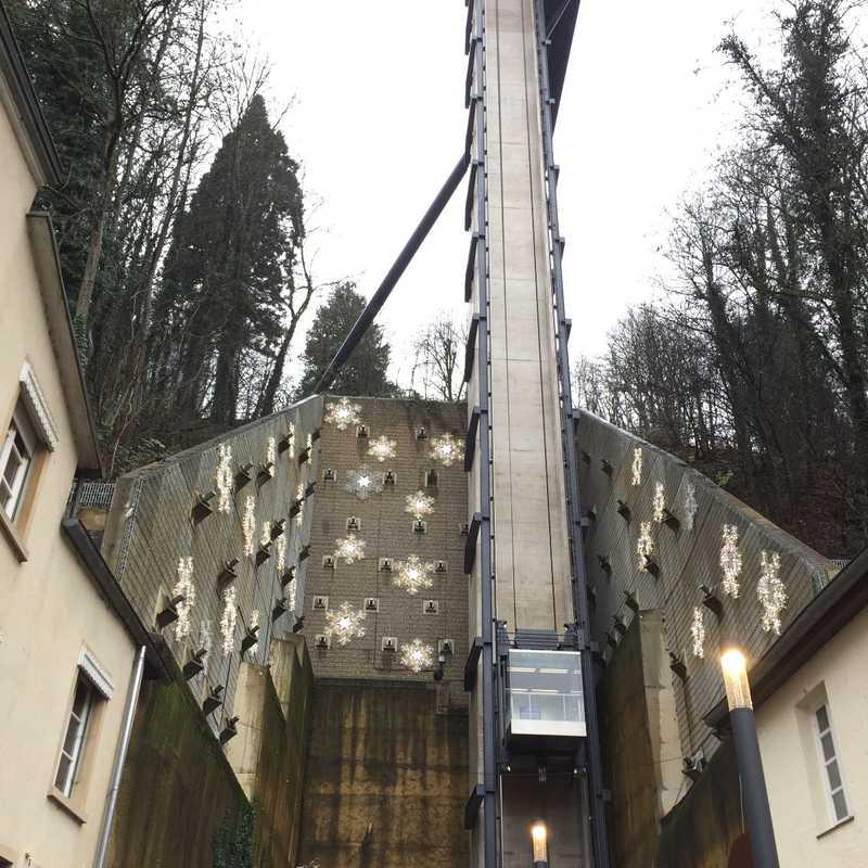 Pfaffenthal Lift / Aufzug/ Scenic lift