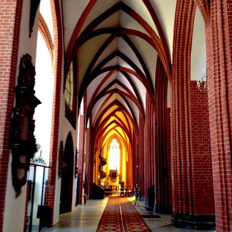 Mostek Pokutnic w Katedrze św. Marii Magdaleny. Punkt widokowy