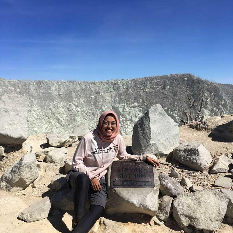 Puncak Gunung Sindoro, 3152 Mdpl