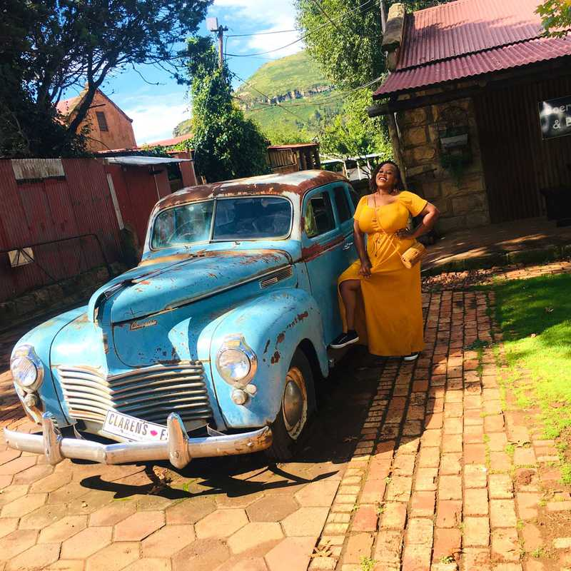 Strolling the streets of Clarens
