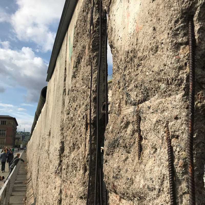 The Remains Of Berlin Wall