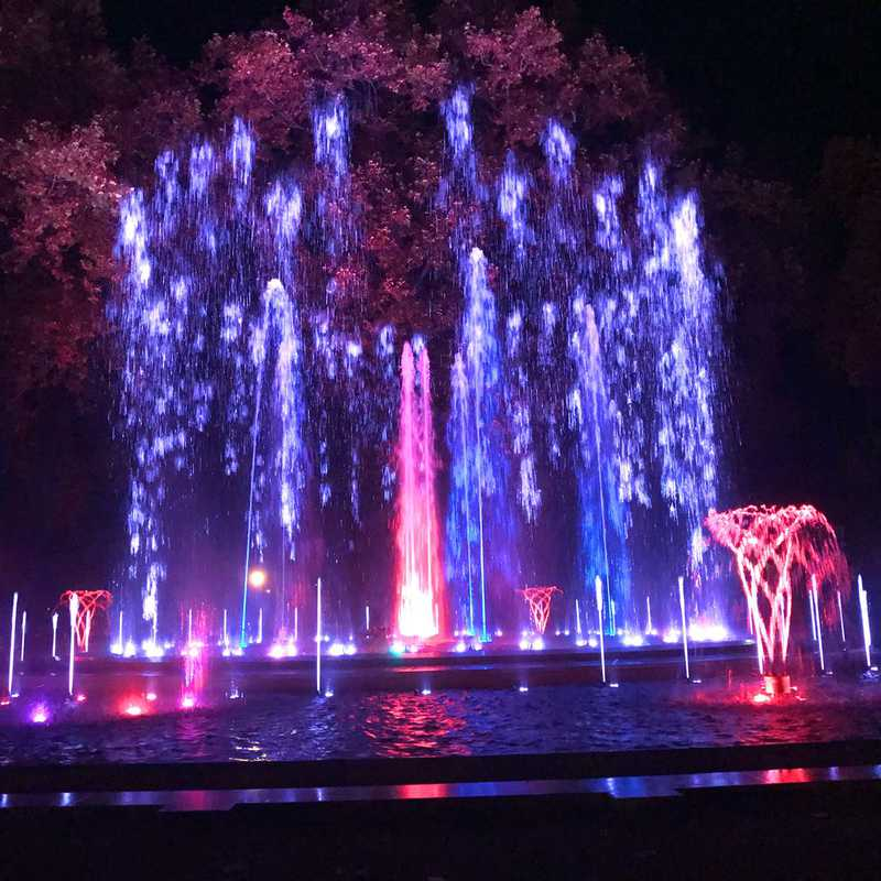 Margaret Island Musical Fountain