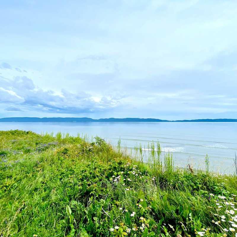 Belvédère baie de Gaspé