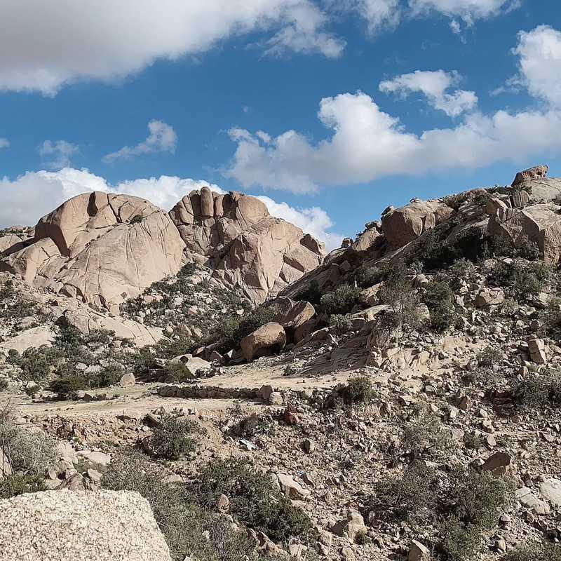Down Side Shifa Mountain