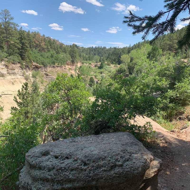 Castlewood Canyon SP Falls Spur