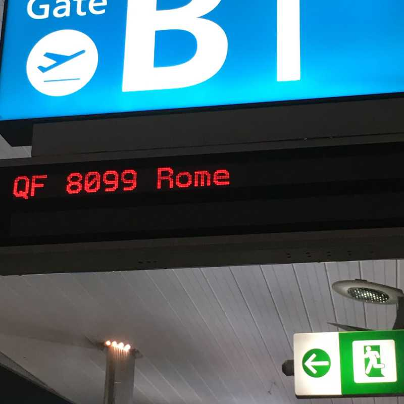 Leonardo da Vinci International Airport (FCO)