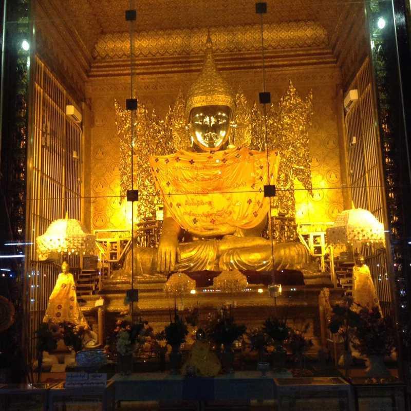 Near Shwedagon Pagoda