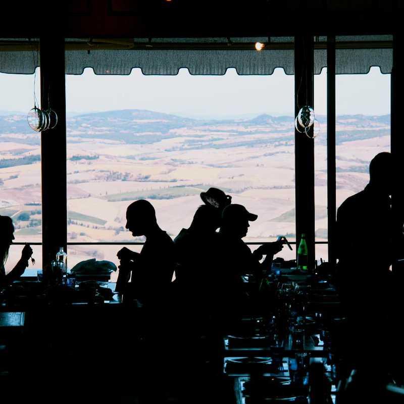 Lunch at Osteria Enoteca Osticcio