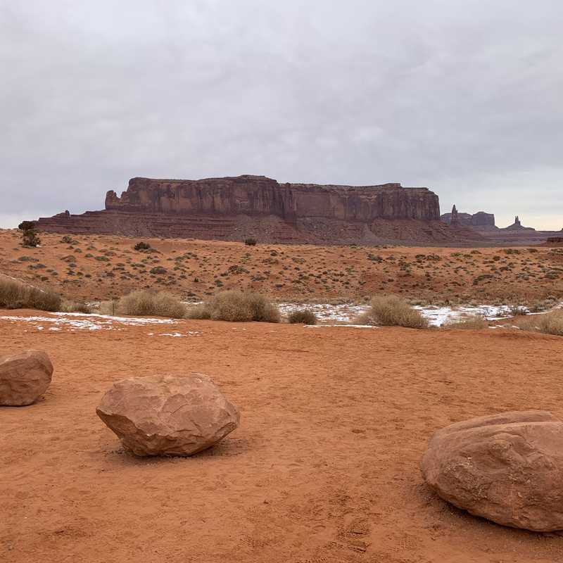 THE CUBE - Monument Valley