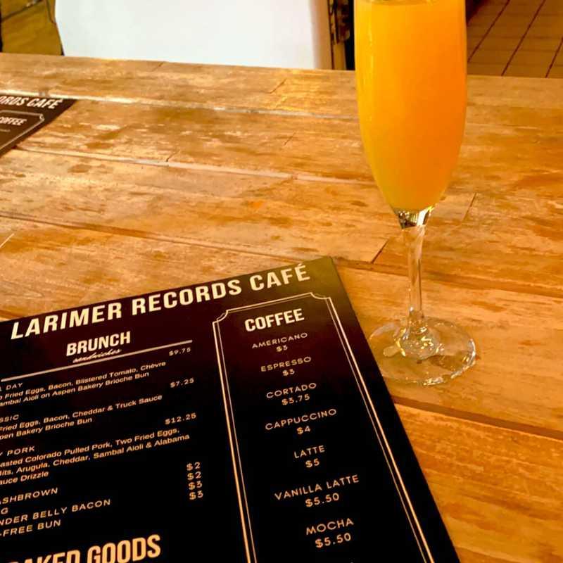 Larimer Records Cafe