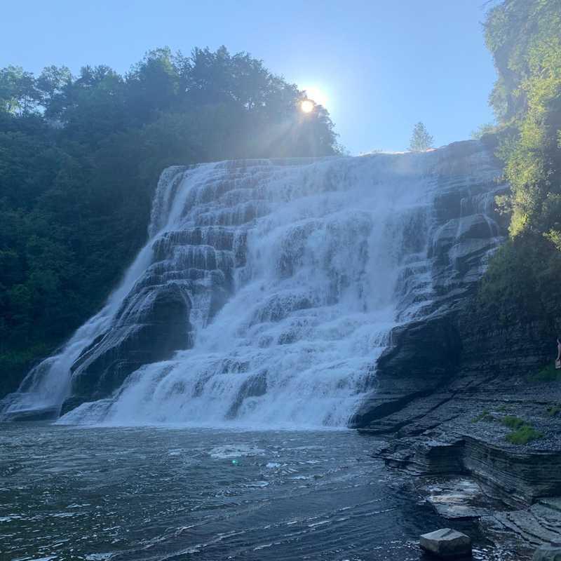 Ithaca Falls Trail