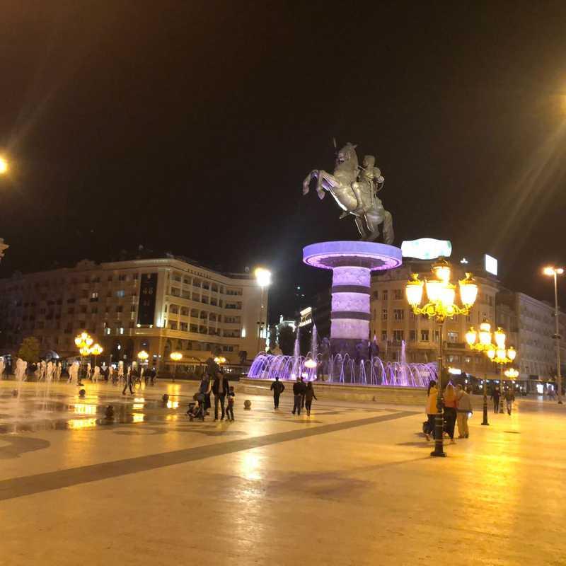 "Square ""Macedonia"""