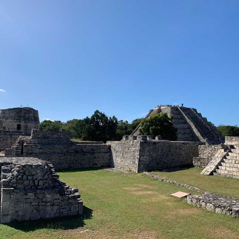 Place / Tourist Attraction: Archaeological Site of Mayapan (Tecoh, Mexico)