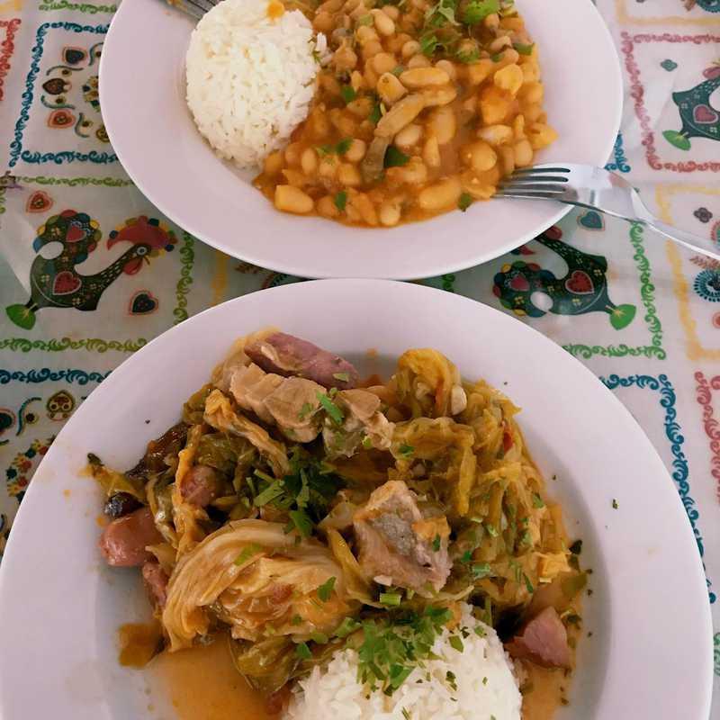 Lunch at Miminhos Caseiros