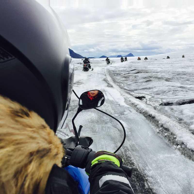 Langjokull Snowmobile Tour