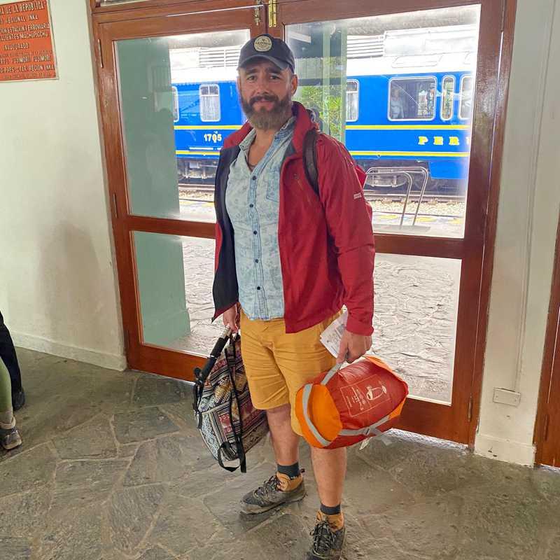 Machu Picchu station