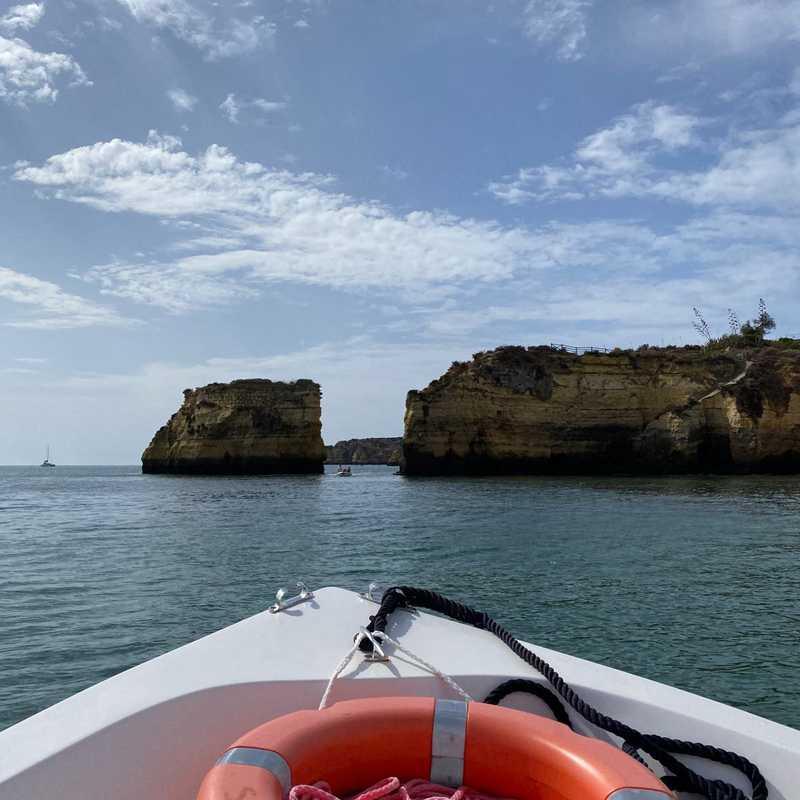 Boat tour from Marina de Lagos to Ponta da Piedade
