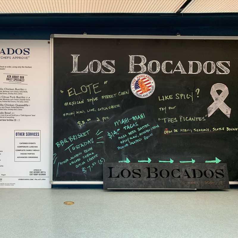 Lunch at Los Bocados