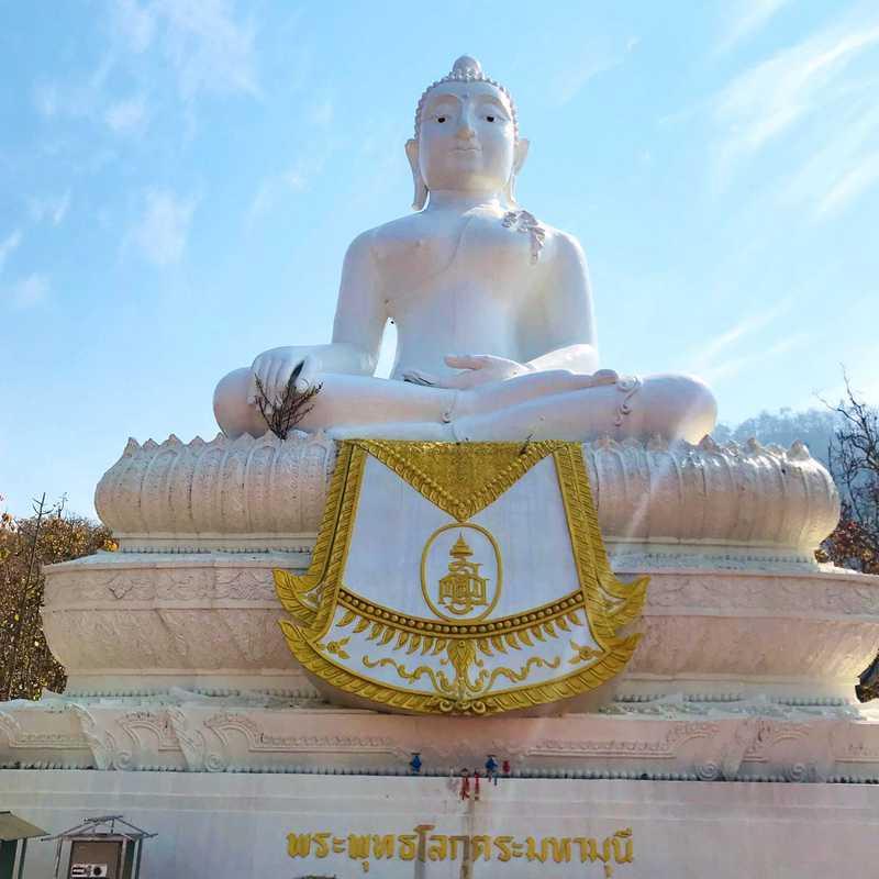 Big Buddha Pai Meditation by Mongkhol