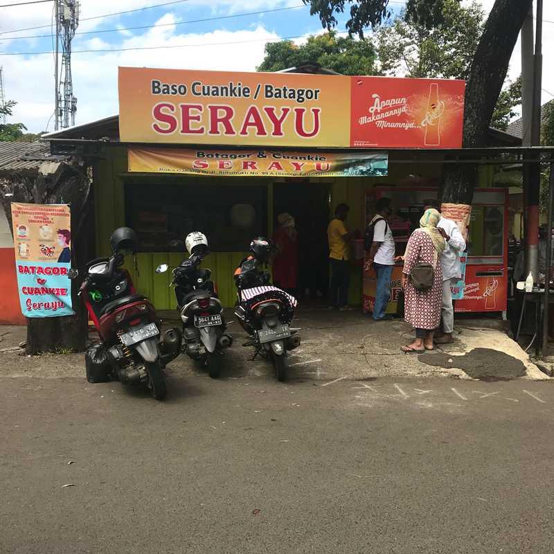 Cuanki dan Batagor Serayu